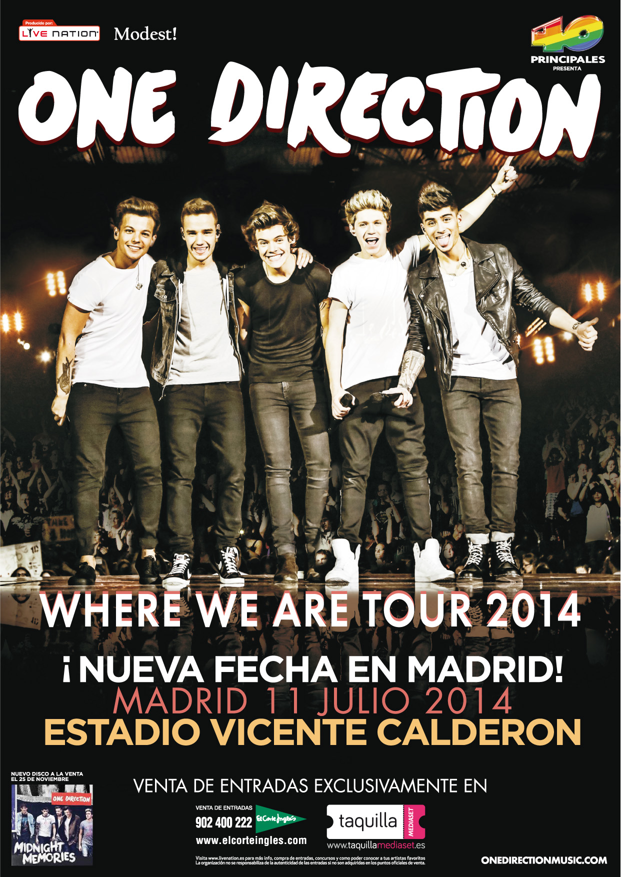 One Direction Tour  Uk